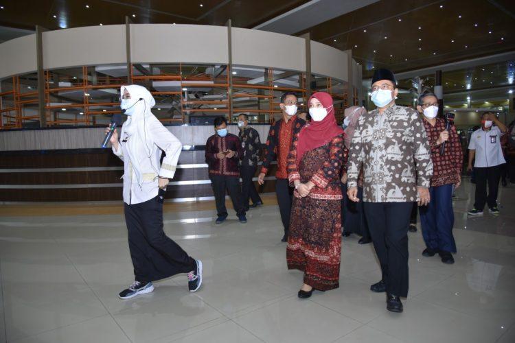 Wawako Maulana Studi ke Mal Pelayanan Publik Palembang