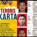 Mabes Polri memperlihatkan wajah dan identitas 3 orang DPO teroris / [Twitter Mabes Polri]
